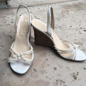Kate Spade Strappy Slingback Wedge Sandals